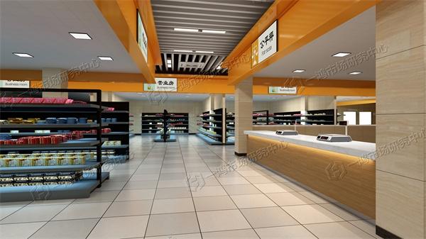 官田农贸市场设计效果图―一鸿市场研究中心
