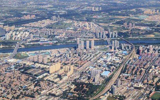 北京通州区航拍