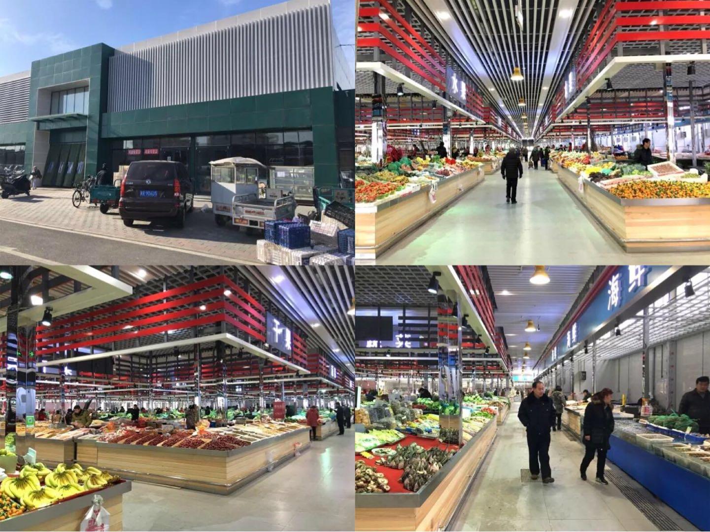 北京东潞苑农贸市场改造后—一鸿市场研究中心