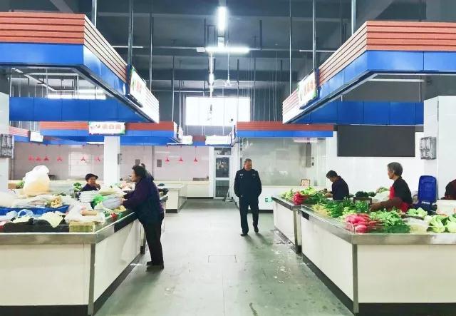 绍兴钱清镇农贸市场