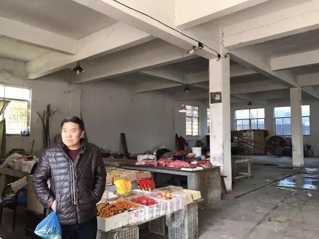 绍兴钱清镇农贸市场改造前—一鸿市场研究中心