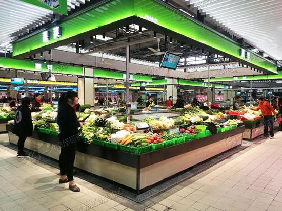 金怡农贸市场改造设计—一鸿市场研究中心