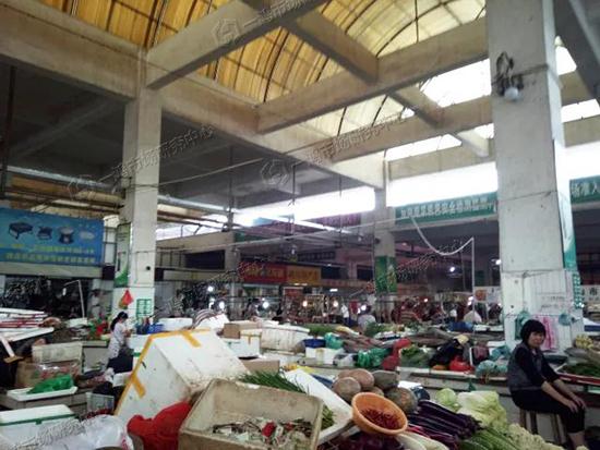 金怡农贸市场改造前—一鸿市场研究中心