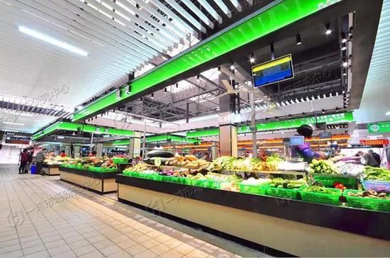 金怡农贸市场改造后—一鸿市场研究中心