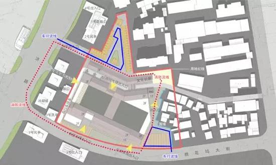 新民桥农贸市场设计—区位条件