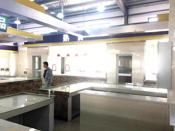 湖塘街道农贸市场摊位设计—一鸿市场研究中心