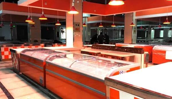 镇北农贸市场肉类摊位设计—一鸿市场研究中心
