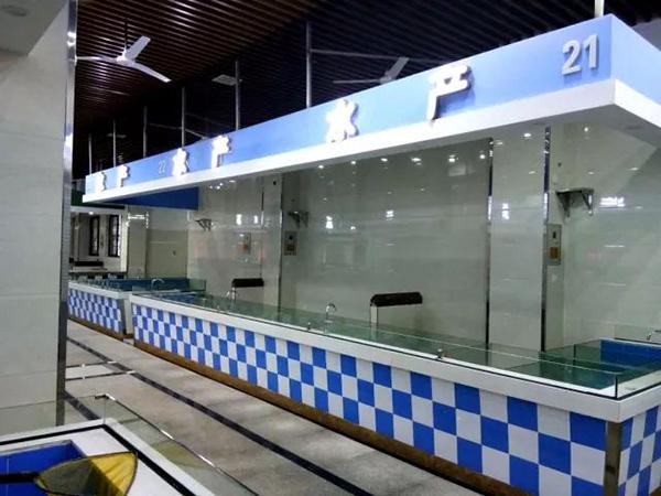 镇北农贸市场水产摊位设计—一鸿市场研究中心