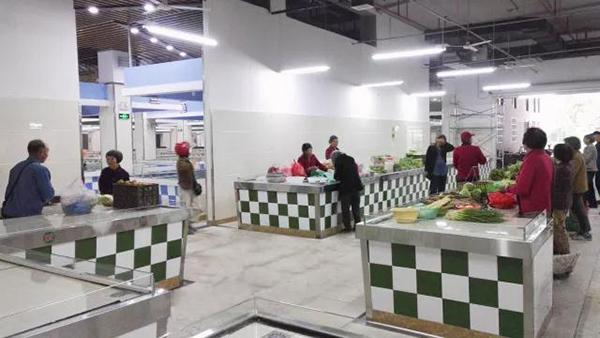 镇北农贸市场实景图—一鸿市场研究中心