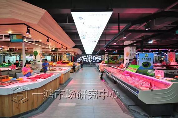 中山竹苑农贸市场改造设计— 一鸿市场研究中心