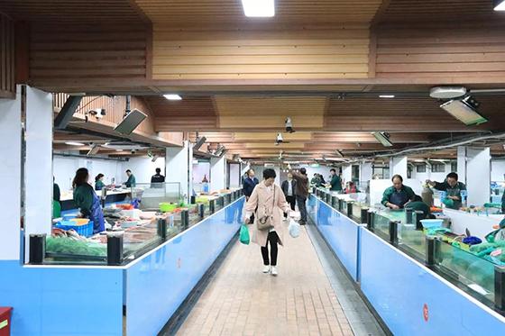 杭州古荡农贸市场水产区改造设计— 一鸿