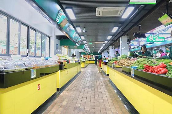 杭州古荡农贸市场蔬菜区改造设计— 一鸿