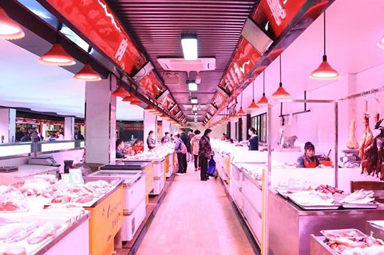 杭州古荡农贸市场肉类区改造设计— 一鸿