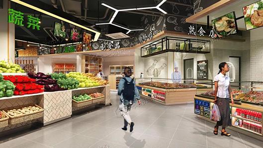 杭州东明综合农贸市场改造设计— 一鸿市场研究中心
