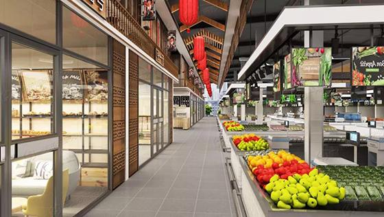 北京道尔泰菜市场改造设计— 一鸿市场研究中心
