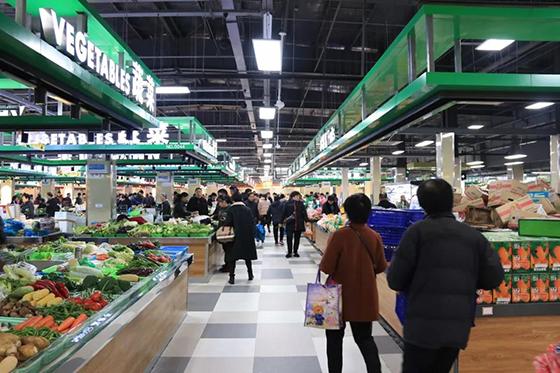 余杭农贸市场设计— 杭州一鸿市场研究中心