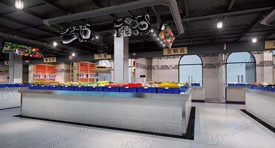 农贸市场改造设计— 杭州一鸿市场研究中心