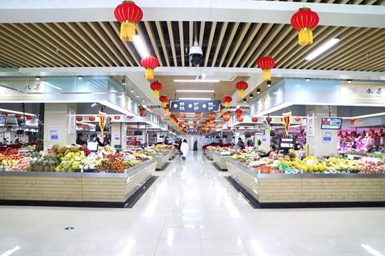 安徽海恒菜市场改造设计— 杭州一鸿市场研究中心