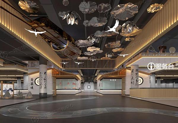 嘉興荷花堤農貿市場改造設計效果圖— 杭州一鴻市場研究中心