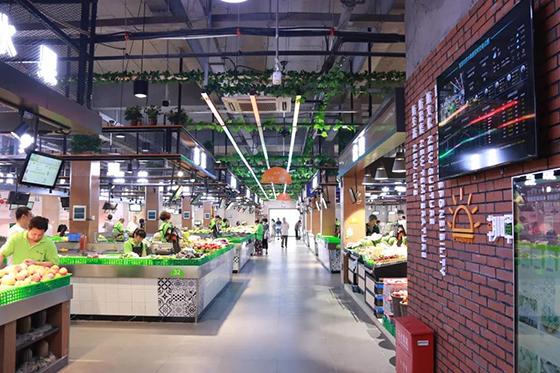 杭州朝晖六区农贸市场改造设计后