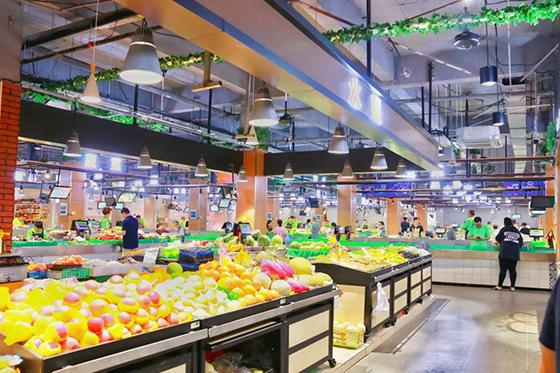 农贸市场设计案例—杭州朝晖六区农贸市场-一鸿