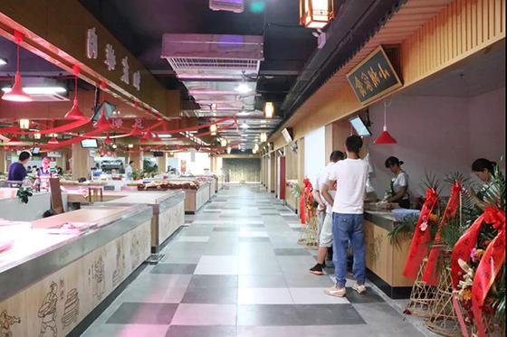 农贸市场设计案例—杭州翰林农贸市场-一鸿