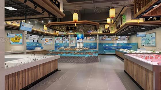 滨康农贸市场水产区设计— 杭州一鸿市场研究中心