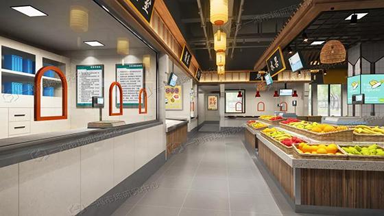 滨康农贸市场卤味区设计— 杭州一鸿市场研究中心