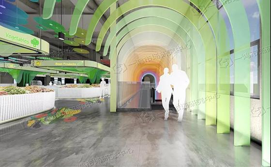 新建农贸市场设计、菜市场 — 一鸿市场研究中心