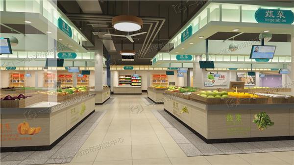 杭州万寿亭农贸市场改造设计— 一鸿农贸市场设计公司