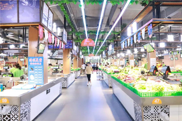 杭州星级标杆市场居于全国前列— 杭州一鸿农贸市场设计院