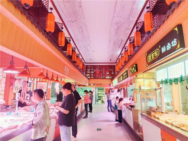 杭州美哉美城农贸市场设计— 杭州一鸿农贸市场设计院