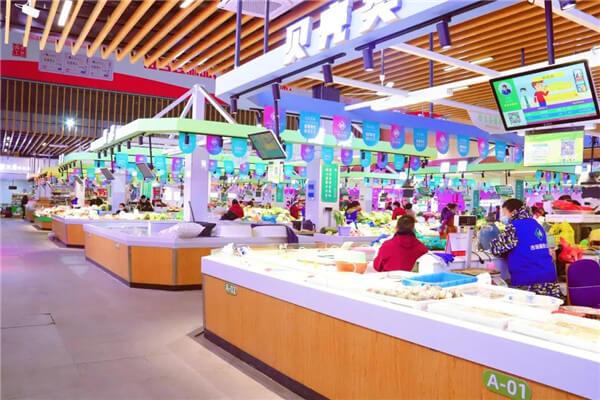 杭州市北市场设计— 杭州一鸿农贸市场设计院