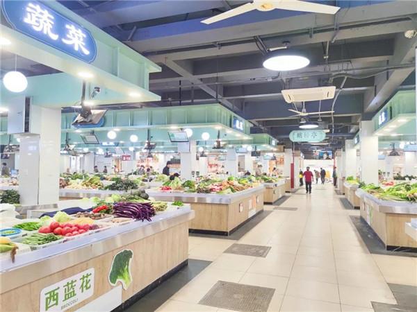 杭州万寿亭农贸市场设计— 杭州一鸿农贸市场设计院