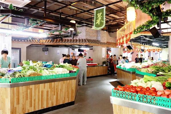 杭州中江农贸市场设计— 杭州一鸿农贸市场设计院